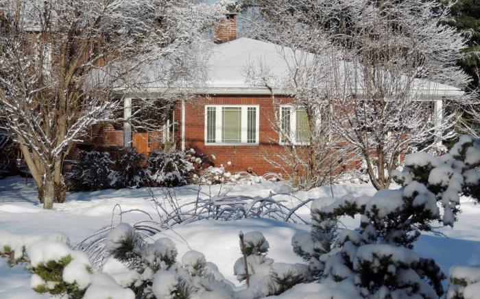 Winter is the Owner's favorite season for retreating at Fernwalk!