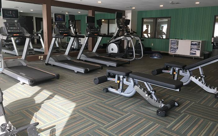 Holiday Inn Express Uniontown - Fitness Center