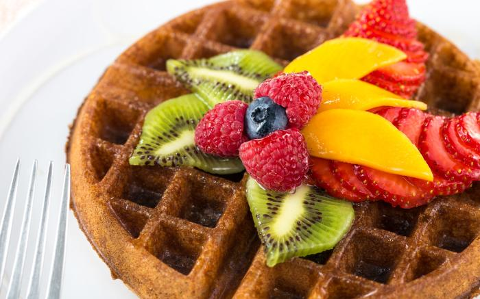 David's awesome waffle to fuel your outdoor adventure!