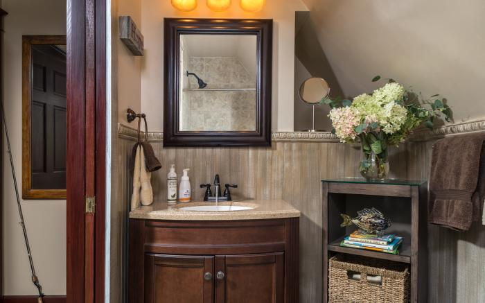 The Angler's Suite Bath