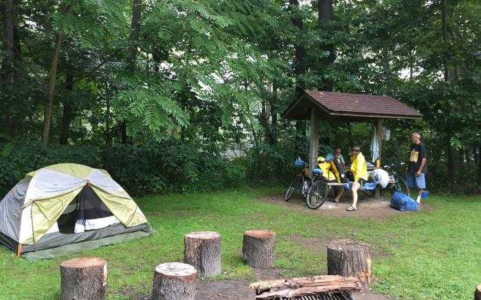 Hiker-Biker Campground, Cedar Creek Park, Westmoreland County