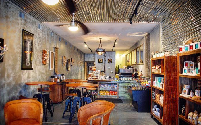 Silver Horse Coffee Interior