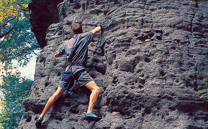 Laurel Highlands River Tours - Rock Climbing