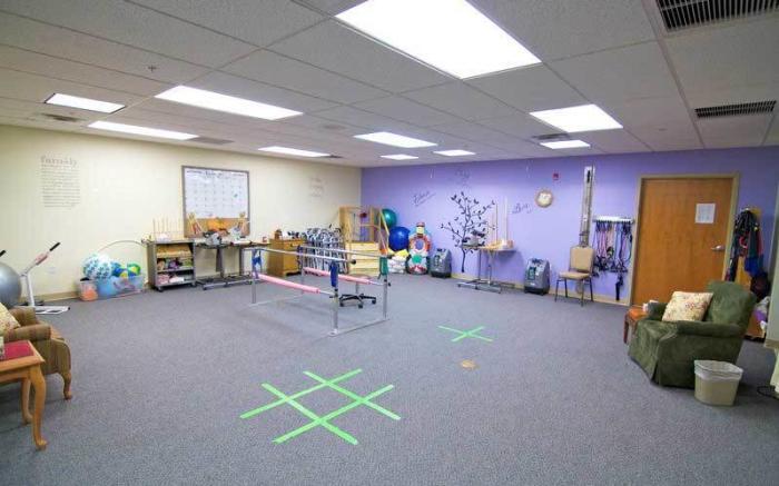 Bethlen Home's state-of-the-art rehabilitation center