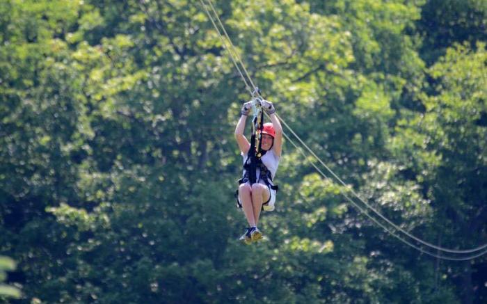 Soaring Above the Laurel Highlands on the Laurel Ridgeline Canopy Tour
