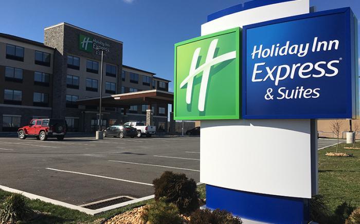 Holiday Inn Express Uniontown - exterior