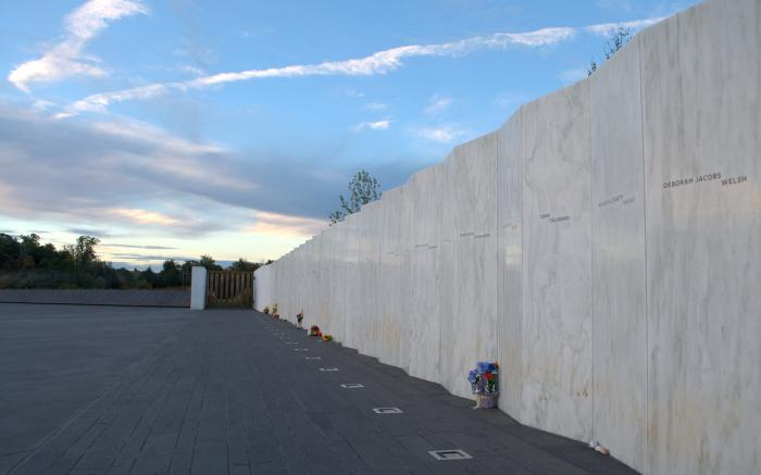 Flight 93 National Memorial - Wall of Names