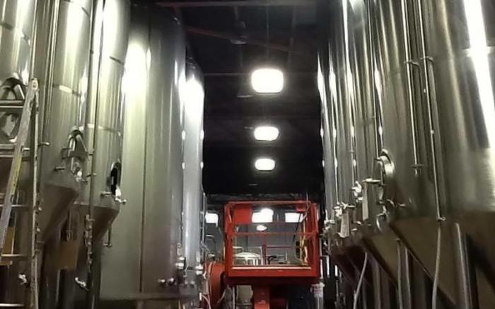 Rivertowne Brewery Bright Tanks