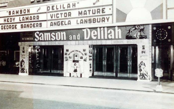 Old Movie Signage