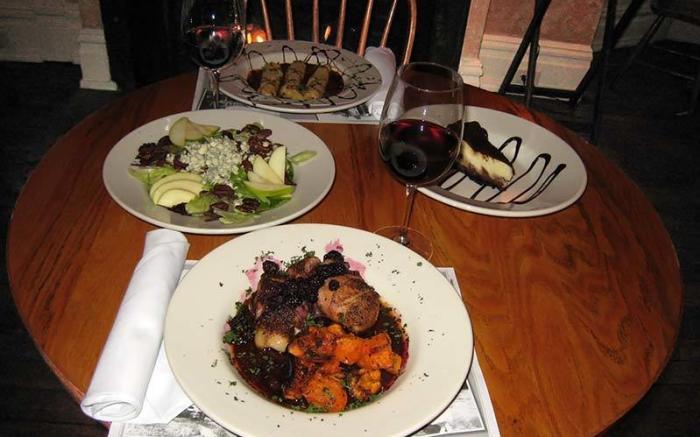 Ligonier Tavern Meals