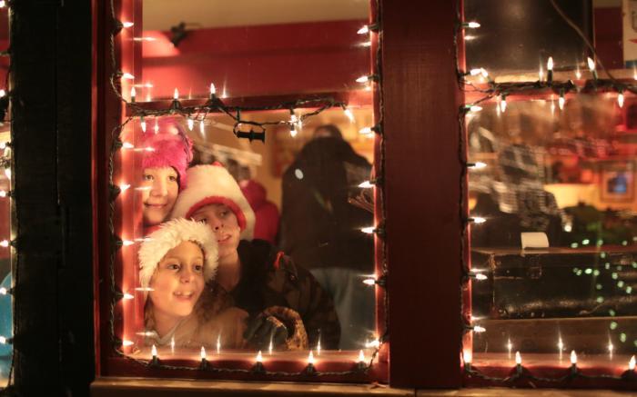 Through the Gift Shop Window