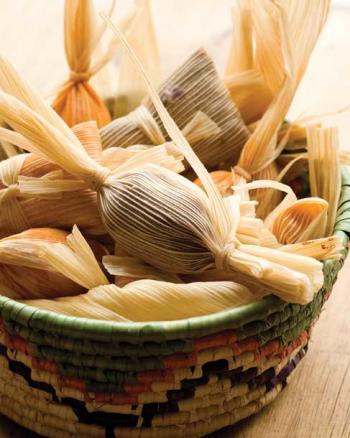 Basket of tamales