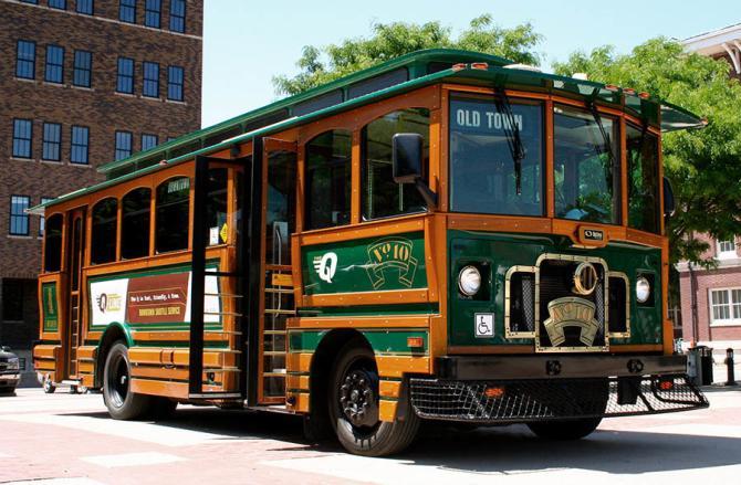 Q-Line Trolley Wichita
