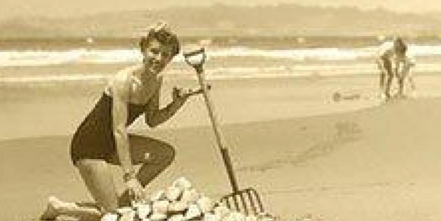 Clam Digging ~ Pismo Beach