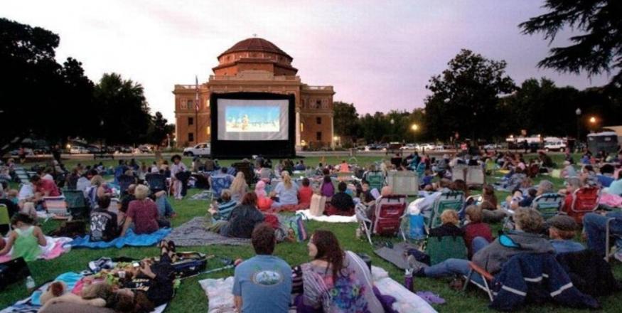Movies in the Gardens at Sunken Gardens- Star Wars