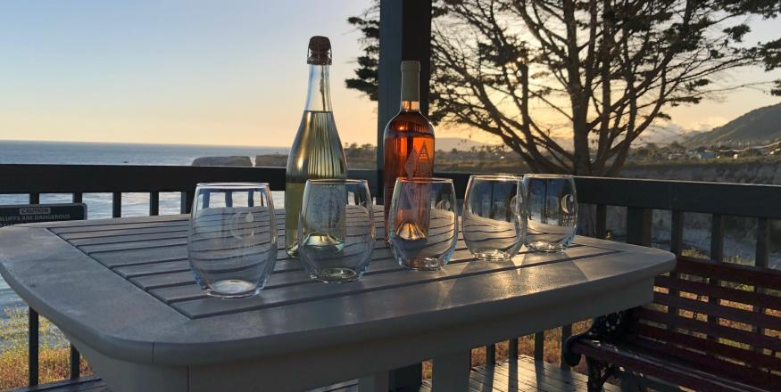 Sunset Wine and Yoga at Inn at the Cove