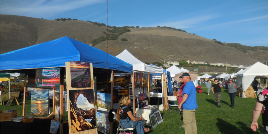 Art in the Park at Dinosaur Caves
