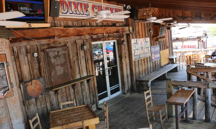 Dixie Chicken Exterior