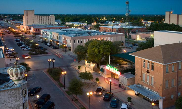 Plan Visit to Downtown Bryan