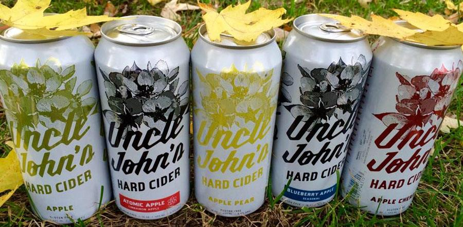 Uncle John's Cider Mill Atomic Apple Hard Cider