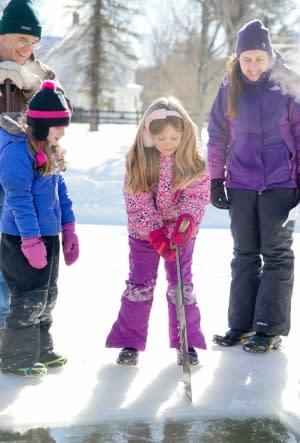 Hanford Mills Museum Ice Harvest Festival