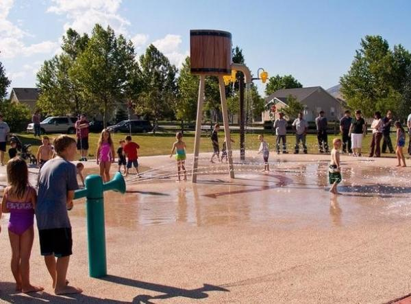 Eagle Mtn Splash Pad
