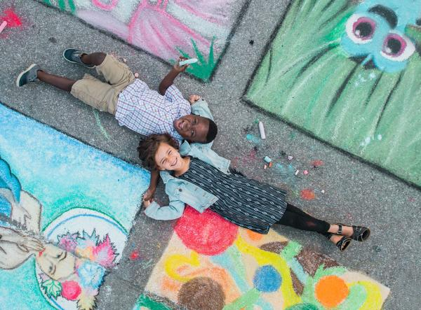 Three Rivers Festival - Chalk Walk - 2017 Visitor Guide Photo - Fort Wayne, Indiana