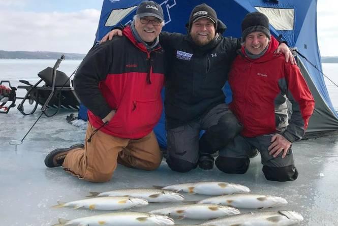 Sport Fish Michigan-Ice Fishing