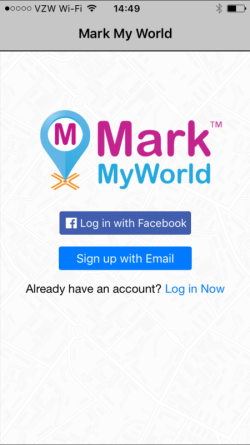 Mark My World