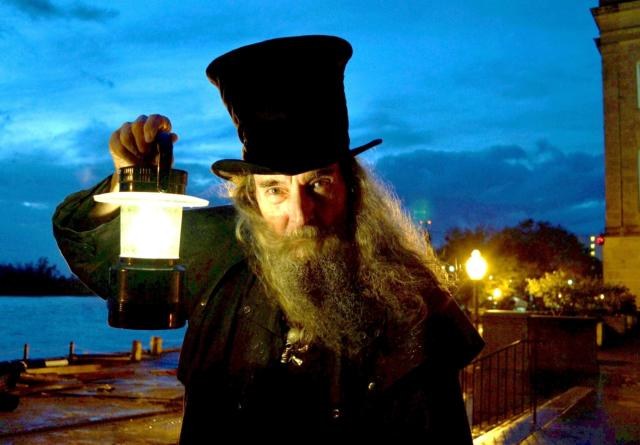 Ghost Walk tour guide