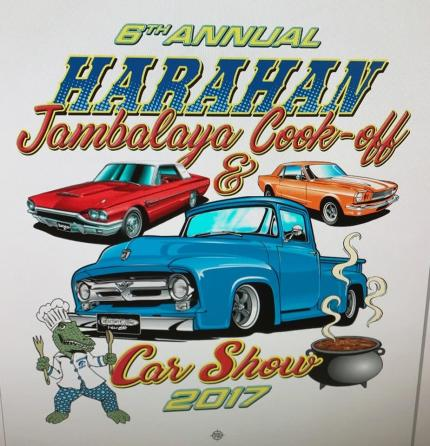 Harahan Jambalaya Cook Off & Car Show