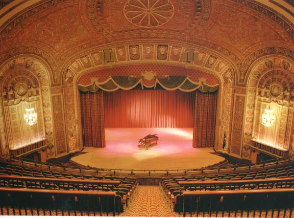 Embassy Theatre Stage