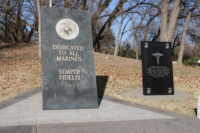 US Marines & Navy Corpsmen Memorial
