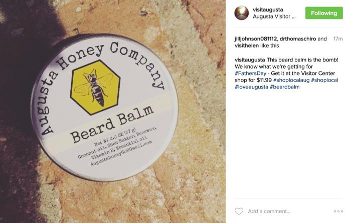 Augusta Honey Beard Balm