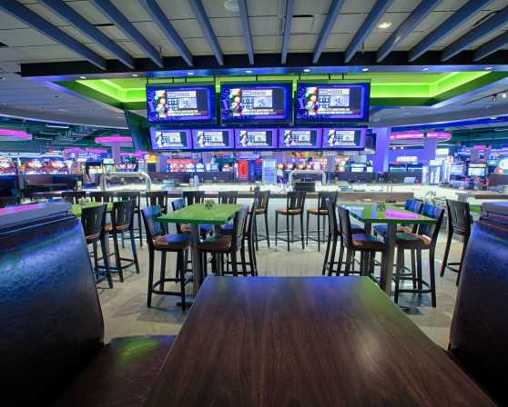 Dave & Buster's - Dining Room