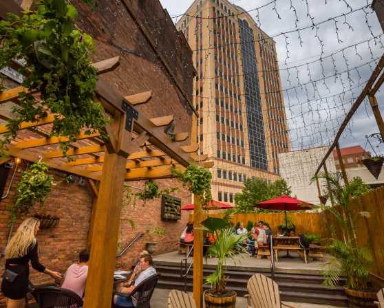 City Beer Hall - Patio Daylight