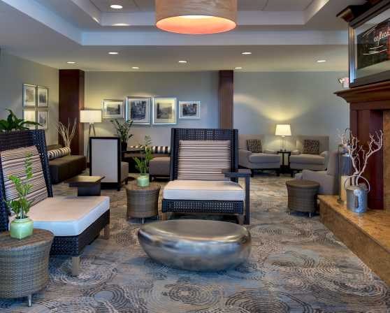 Hilton Garden Inn Albany Medical Center Fireside Lounge