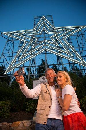 Roanoke Star in Virginia's Blue Ridge