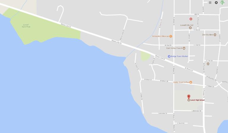 H2O Dragon Boat Location Map