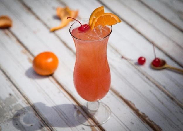 Bayou Rum Hurricane Cocktail