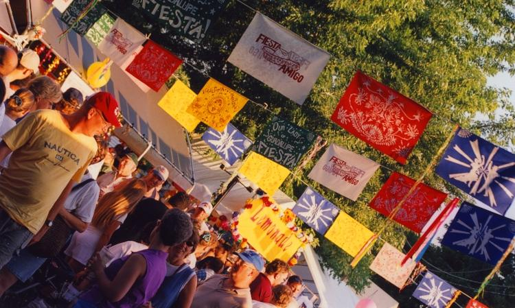 Flags at Fiesta