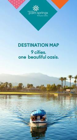 Greater Palm Springs Destination Map