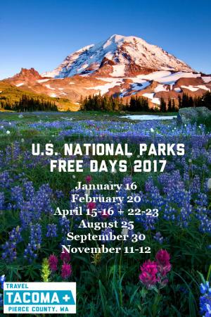 U.S. National Parks Free Days at Mount Rainier