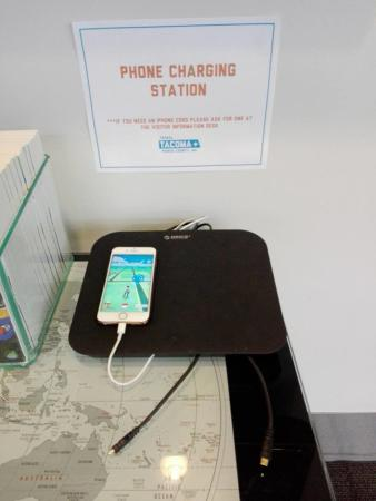 Pokemon Go charging station