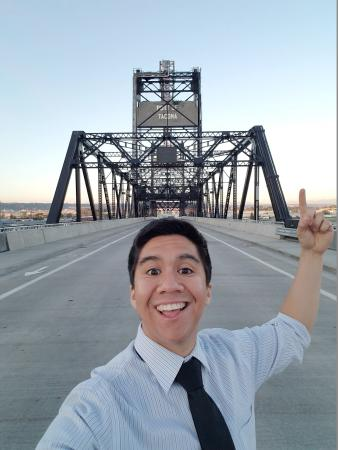 Selfie Spots - Murray Morgan Bridge
