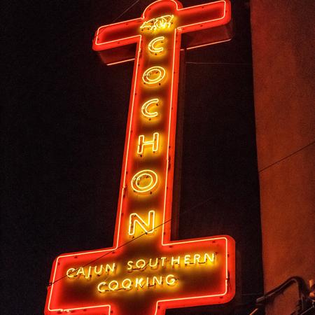 Voodoo restaurant marquee