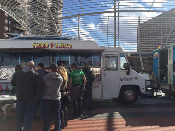 Cowles Commons Food Trucks Hops and Hops