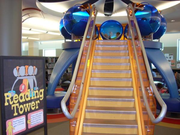 Children's section, Allen Co Public Library, Fort Wayne, IN