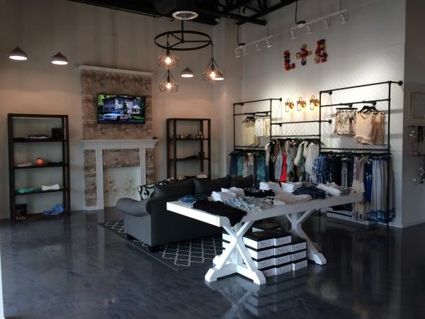 Lace and Arrow Boutique shopping