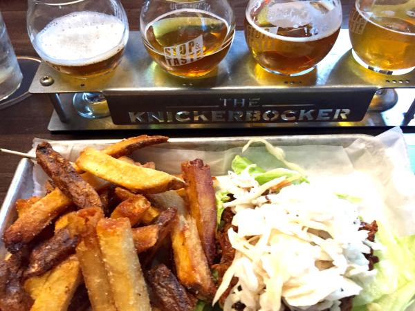 Knickerbocker New Holland Beer and Food